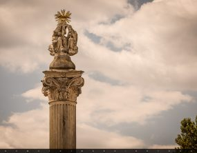 Biai Szentháromság-oszlop és -szobor – Biatorbágy